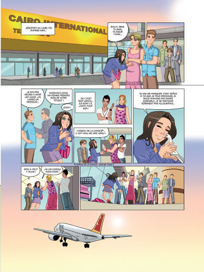Page 3 Danse tome 5 - Destin d'étoile