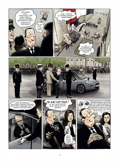Page 5 moi, Président ; ma vie quotidienne à l'Elysée