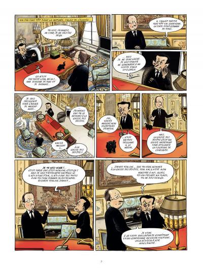 Page 6 moi, Président ; ma vie quotidienne à l'Elysée