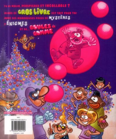 Dos le gros livre des mystères et boules de gomme tome 1