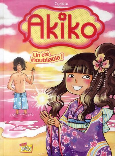 Couverture Akiko tome 2 - Un été inoubliable !