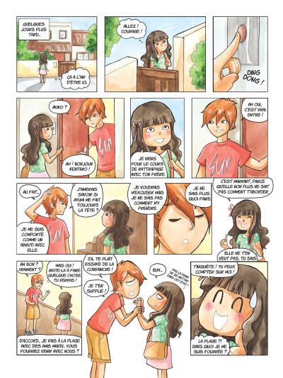 Page 4 Akiko tome 2 - Un été inoubliable !