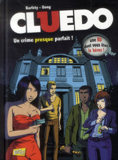 Couverture cluedo tome 1