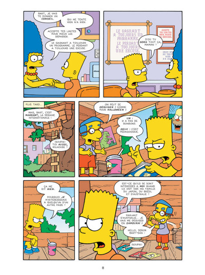 Page 4 Les Simpson tome 26