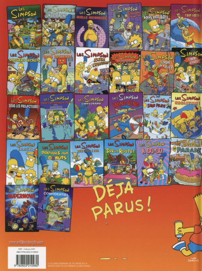 Dos Les Simpson tome 27