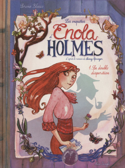 Couverture Enola Holmes tome 1