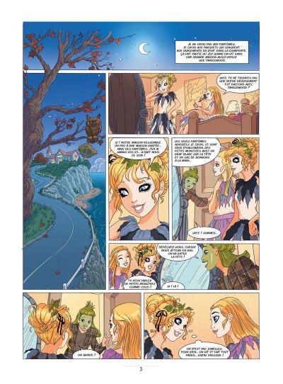Page 1 Les filles au chocolat tome 2