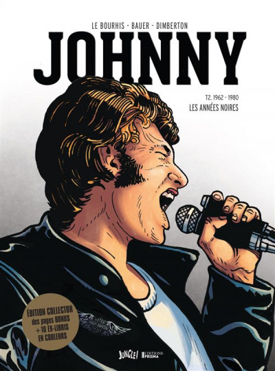 Couverture Johnny tome 2 - édition collector