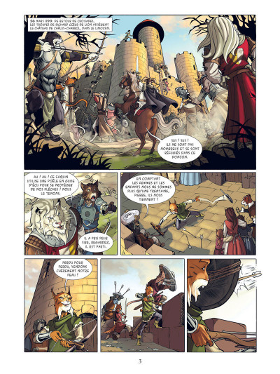 Page 1 Les champions d'Albion tome 1