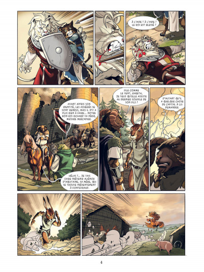 Page 2 Les champions d'Albion tome 1