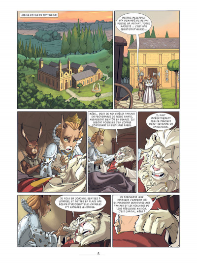 Page 3 Les champions d'Albion tome 1
