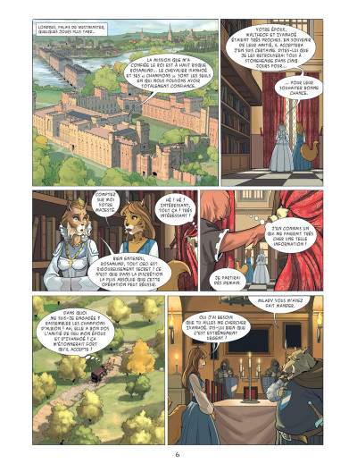 Page 4 Les champions d'Albion tome 1