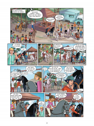 Page 2 Le ranch tome 3