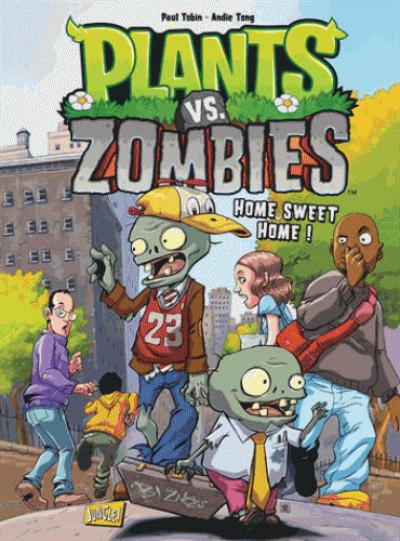 Couverture Plants VS Zombies tome 4