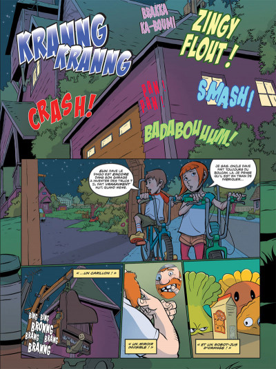 Page 1 Plants VS Zombies tome 4