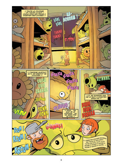 Page 2 Plants VS Zombies tome 4