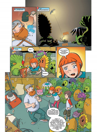 Page 4 Plants VS Zombies tome 4