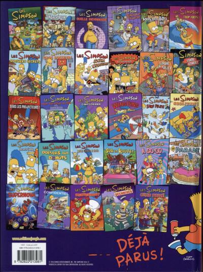 Dos Les Simpson tome 30