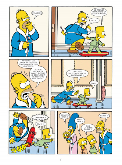 Page 1 Les Simpson tome 30