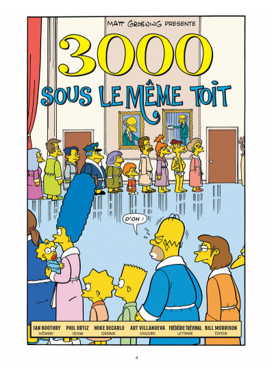 Page 2 Les Simpson tome 30