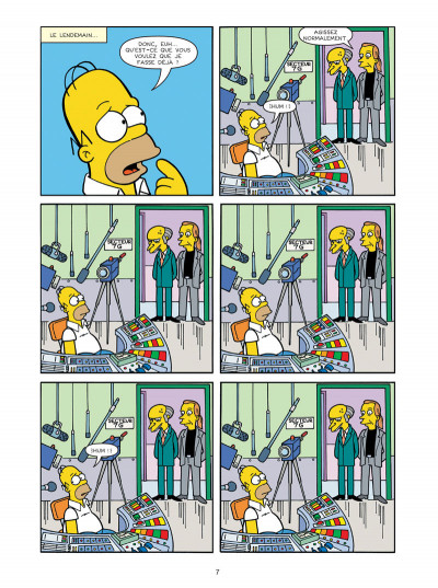 Page 5 Les Simpson tome 30