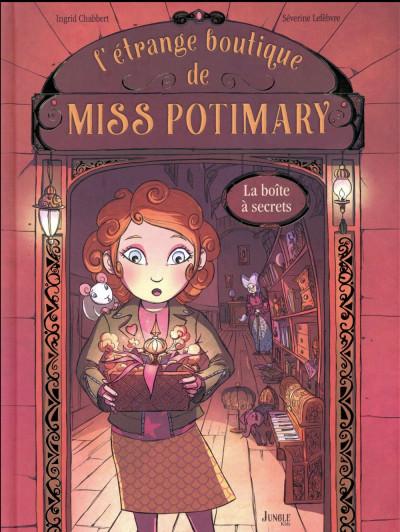 Couverture L'étrange boutique de Miss Potimary tome 1