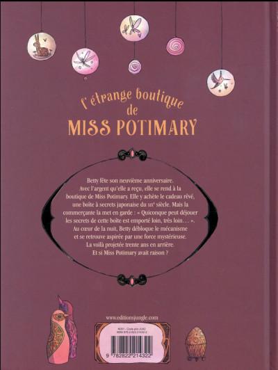 Dos L'étrange boutique de Miss Potimary tome 1