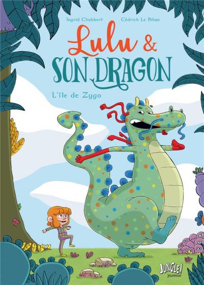Couverture Lulu et son dragon