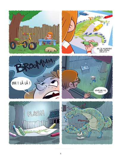 Page 3 Lulu et son dragon