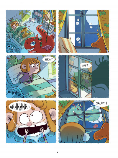 Page 4 Lulu et son dragon