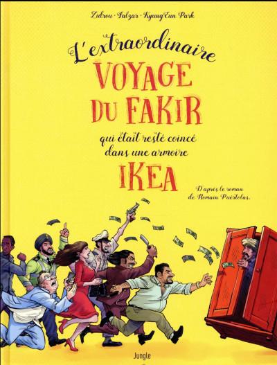 Couverture L'extraordinaire voyage du fakir...