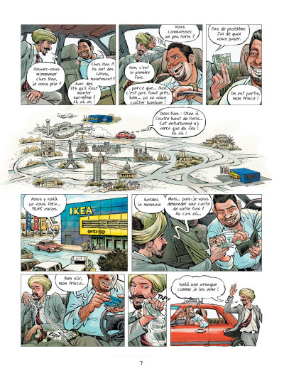 Page 3 L'extraordinaire voyage du fakir...