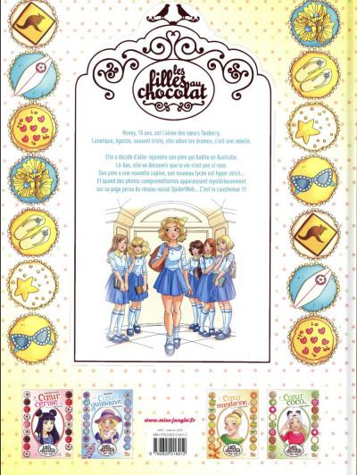 Dos Les filles au chocolat tome 5