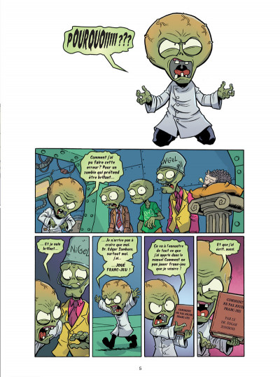 Page 1 Plants VS Zombies tome 6