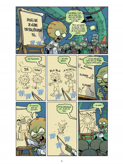 Page 2 Plants VS Zombies tome 6