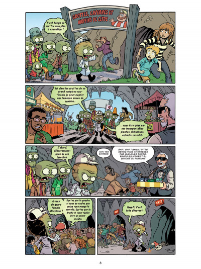 Page 4 Plants VS Zombies tome 6
