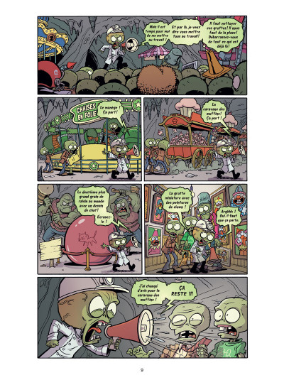 Page 5 Plants VS Zombies tome 6