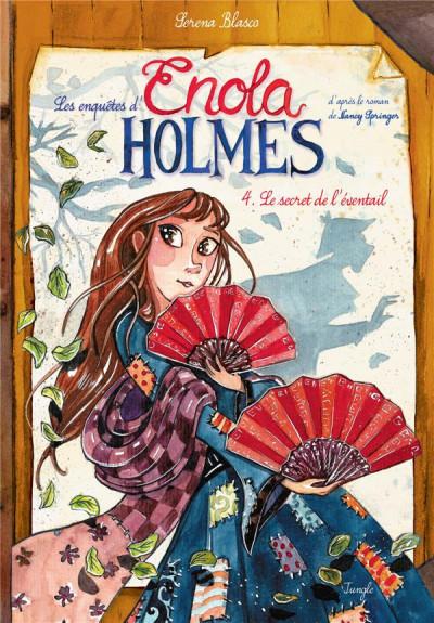 Couverture Enola Holmes tome 4 ...