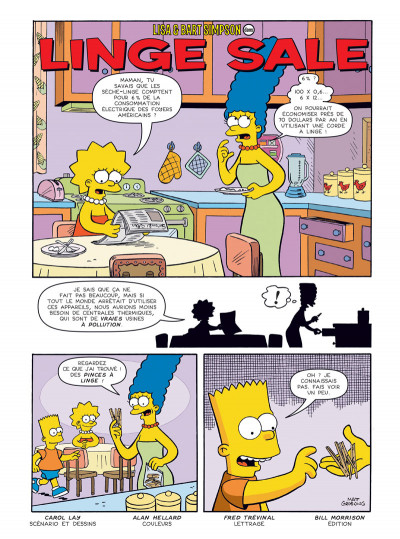 Page 1 Les Simpson tome 33