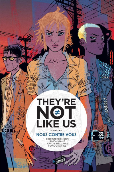 Couverture They're not like us tome 2