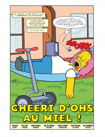 Page 1 Les simpson -  colossal tome 2
