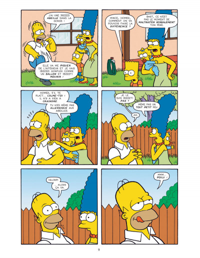 Page 3 Les simpson -  colossal tome 2