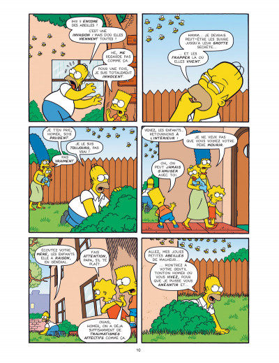 Page 4 Les simpson -  colossal tome 2