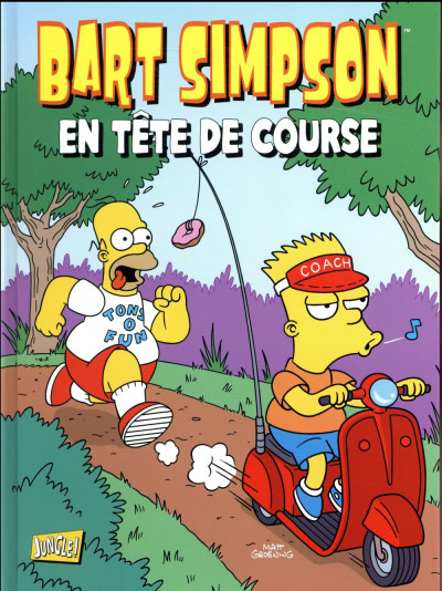 Couverture Bart Simpson tome 14