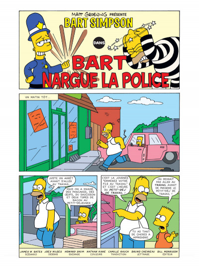 Page 1 Bart Simpson tome 14