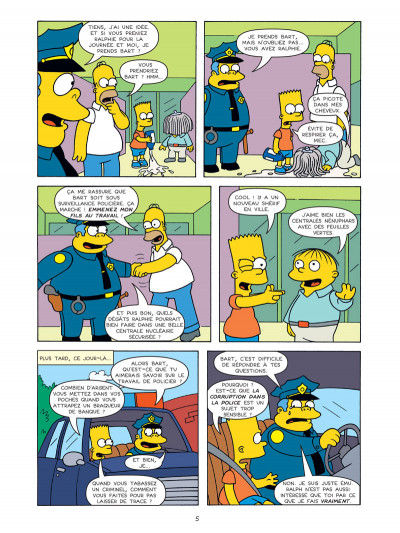 Page 3 Bart Simpson tome 14