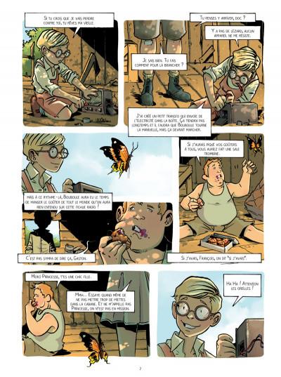 Page 4 Le réseau Papillon tome 1