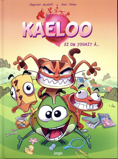 Couverture Kaeloo tome 1