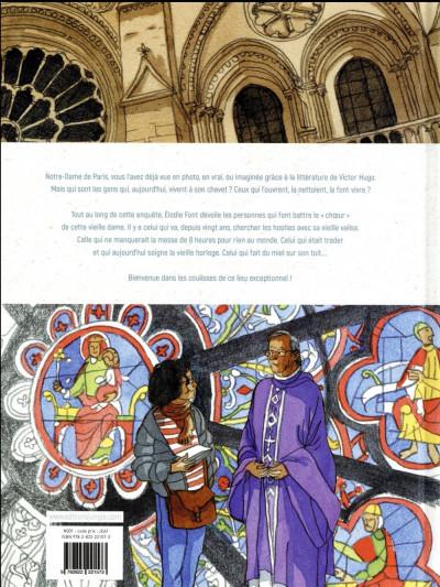 Dos Dans les coulisses Notre Dame de Paris