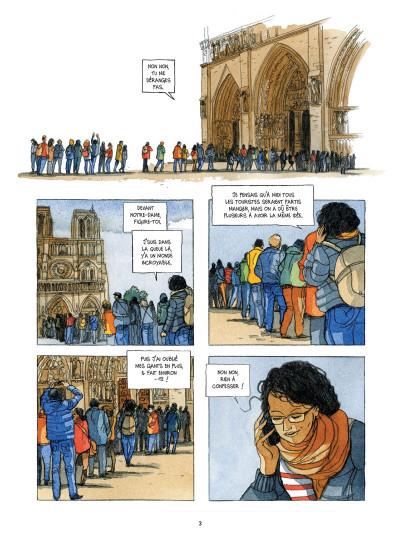 Page 1 Dans les coulisses Notre Dame de Paris